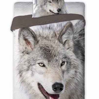 Puuvillane voodipesukomplekt Wild Wolf