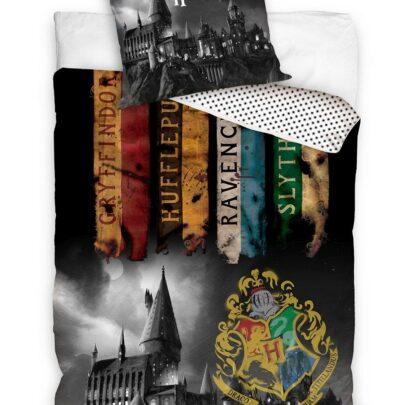 Puuvillane laste voodipesukomplekt 160×200 cm. Harry Potter