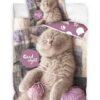 Good night Kitty Puuvillane voodipesukomplekt 2-osaline