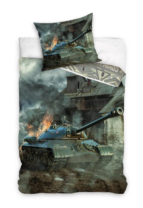 Puuvillane voodipesukomplekt Tank
