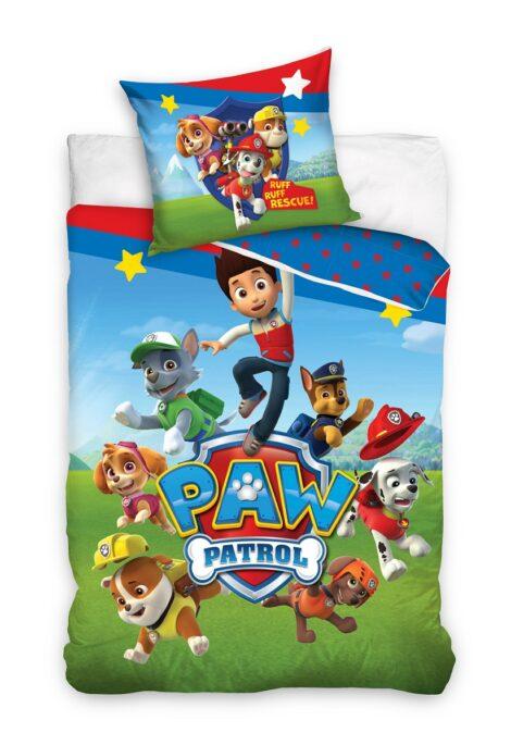 Paw Patrol 160x200 cm voodipesukomplekt lastele