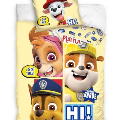 Paw Patrol puuvillane voodipesukomplekt lastele 135x200 cm