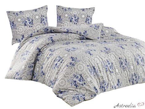 "Puuvillane voodipesukomplekt 200×220 cm, 3-osaline ""Linda"""