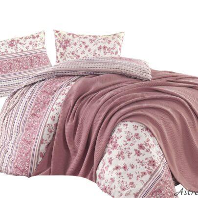 "Puuvillane voodipesukomplekt 200×220 cm, 3-osaline ""Lucinda Pink"""