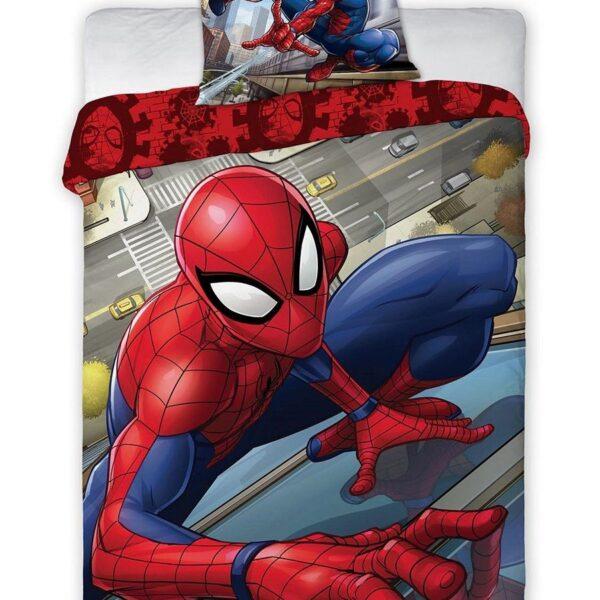 Marvel Puuvillane laste voodipesukomplekt Spider-Man